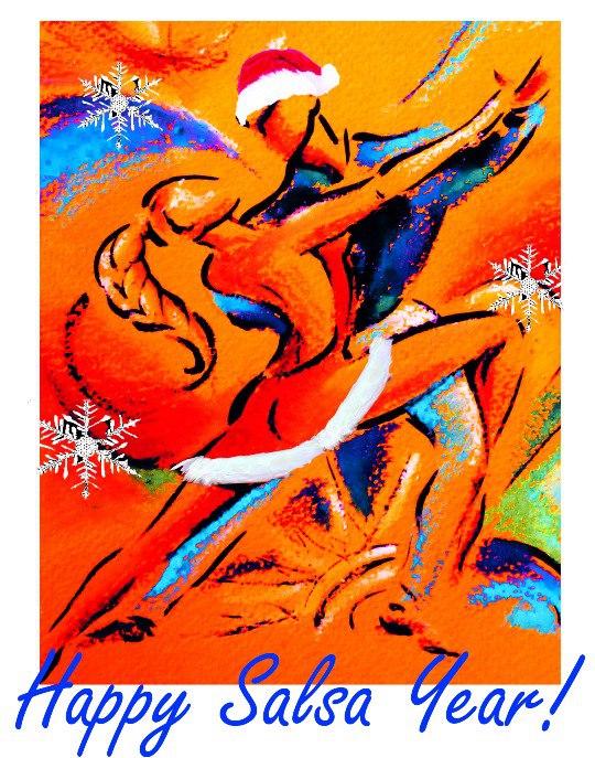 Сальса-Новый Год на Дружинниковской 30